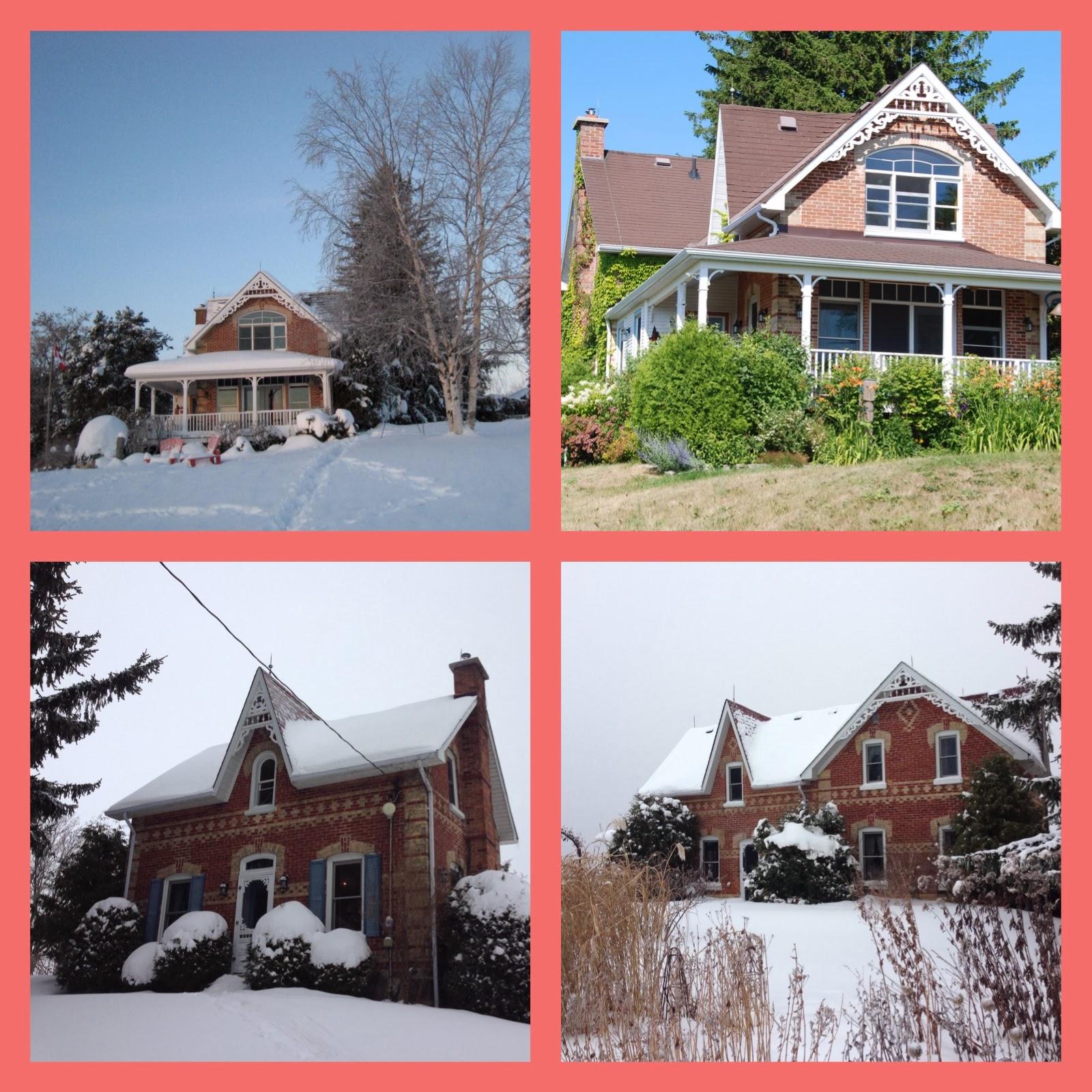 Beautiful And Charming Century Victorian Brick Farmhouse