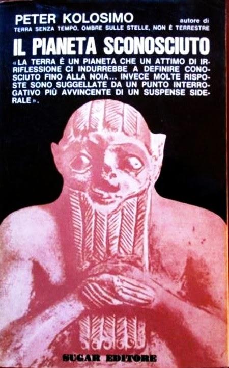 Portada italiana de El Planeta Incógnito de Peter Kolosimo
