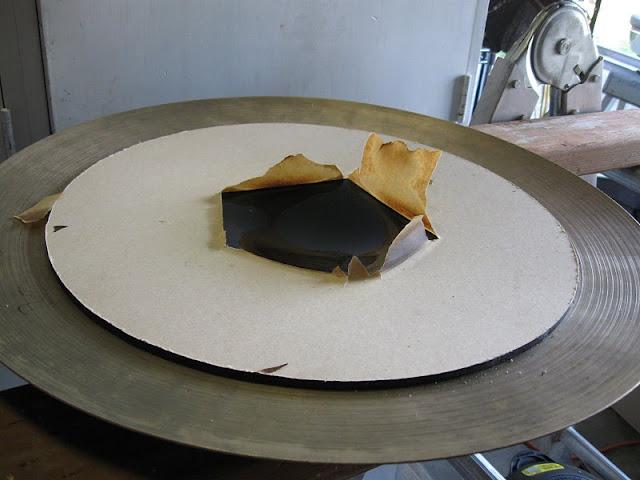 Изготовление тарелок для тренировочной ударной установки