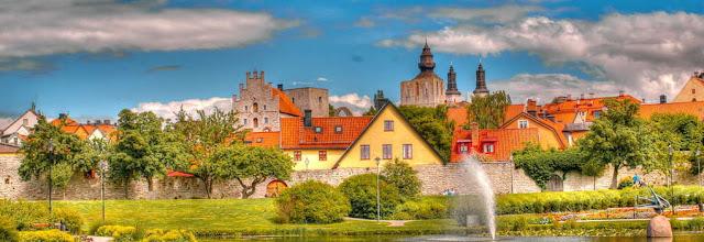 ve may bay di thuy dien gia re - Khung cảnh đẹp ở Thụy Điển