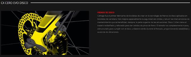 La Colnago CX CERO EVO se adapta a los tiempos que corren