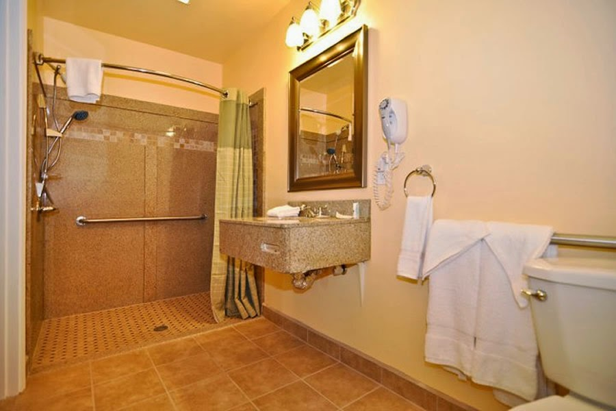 Bathroom ideas baconafterdark handicap bathroom design - Handicapped accessible bathroom plans ...