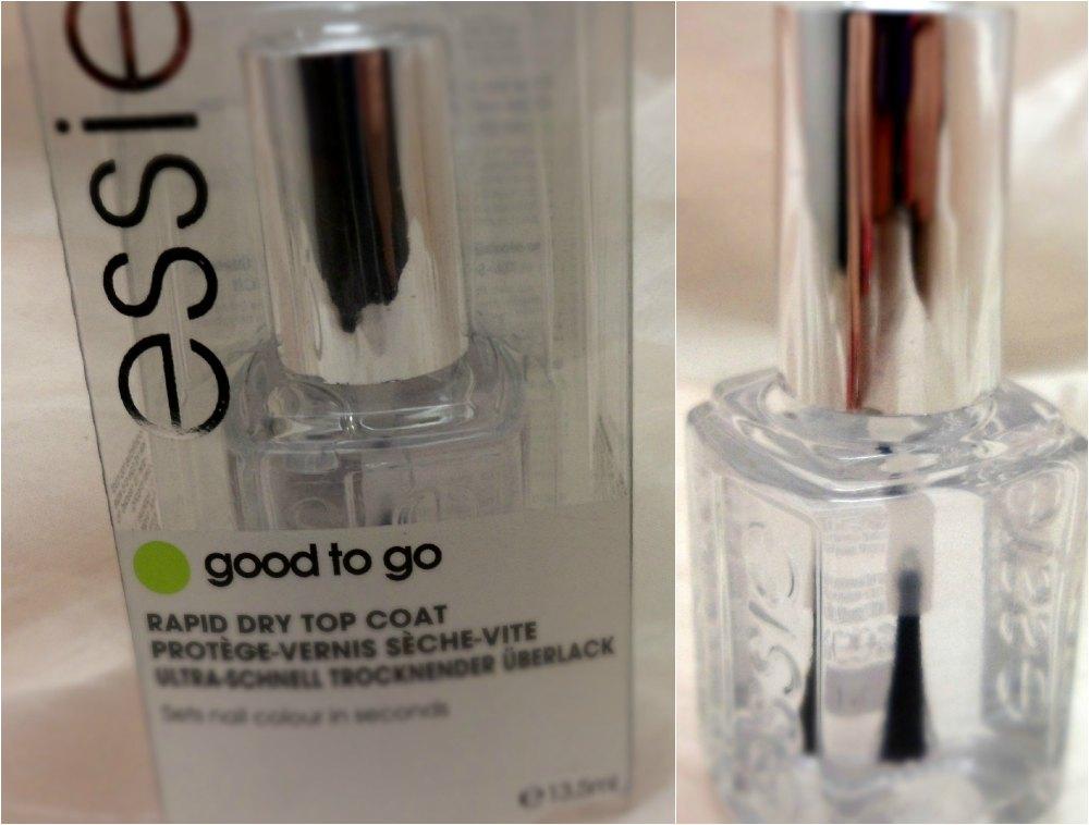 Pero qué cosa más bonita!: Good to Go de Essie, uñas secas más rápido