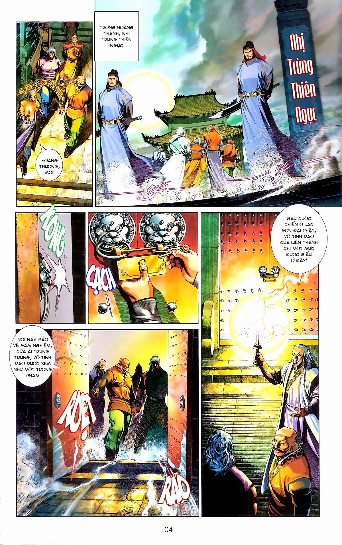 Phong Vân chap 672 Trang 4 - Mangak.info