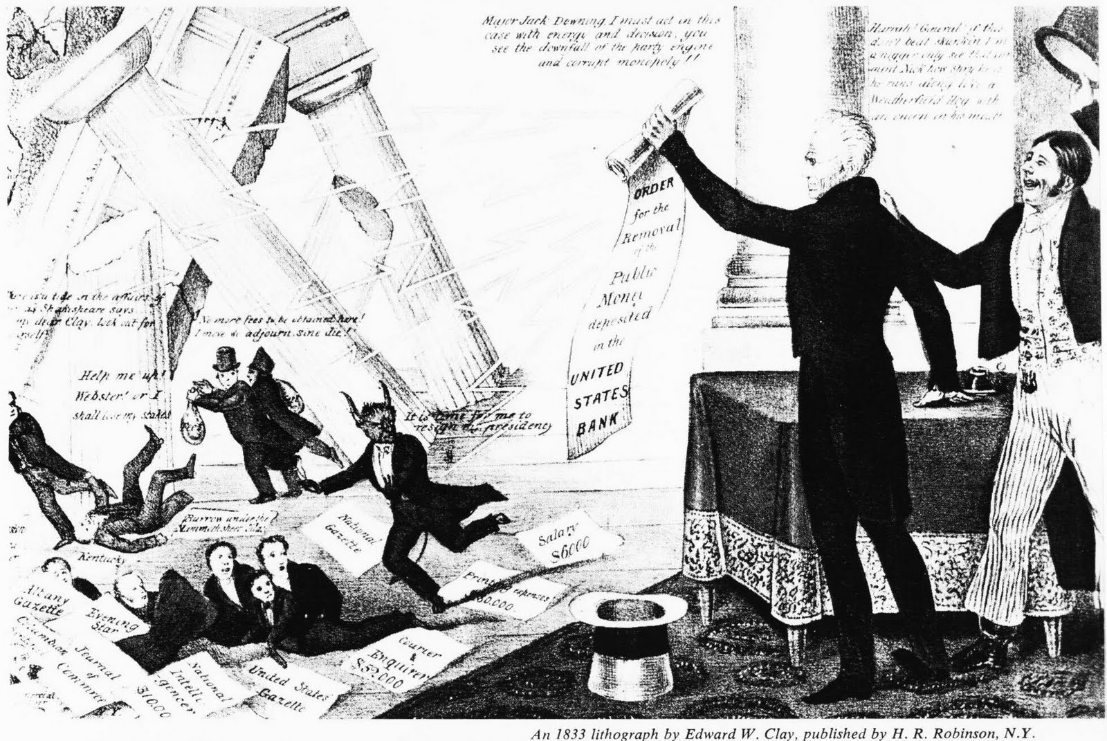 Kitchen Cabinet Andrew Jackson Similiar Andrew Jackson Political Cartoons About Democracy Keywords