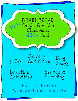 SPD/Brain Break Cards