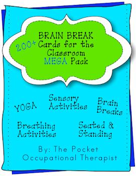 SPD/Brain Break Cards