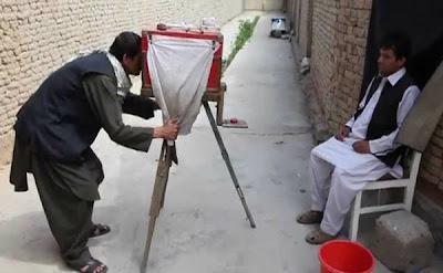 Kamra-e-faoree câmera Box afegão