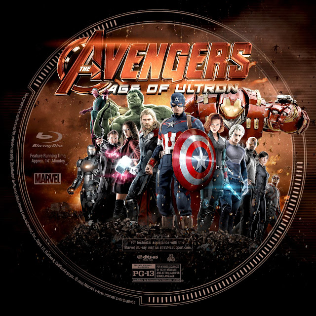 Label Bluray The Avengers Age Of Ultron