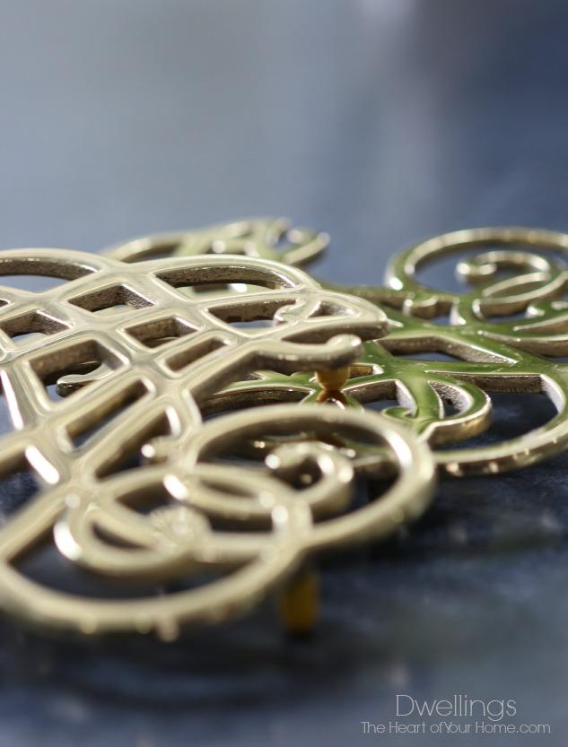 brass trivet