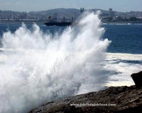 Ría de Coruña.