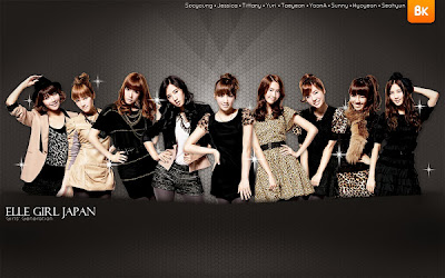 Wallpaper SNSD ( Girls' Generation ) 2012