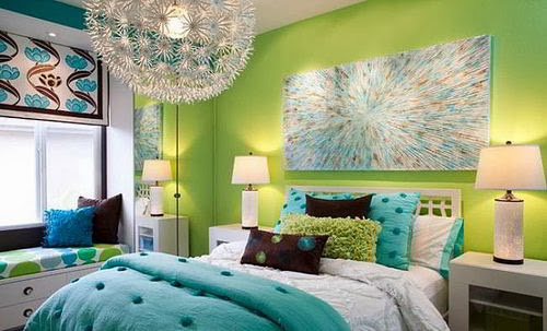 Decoración de dormitorios con colores relajantes