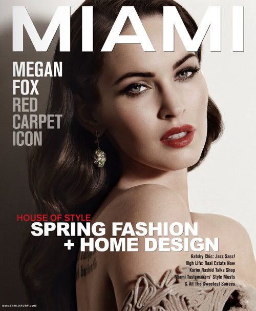 Megan Fox Covers Miami Magazine March 2012_MyClipta blog