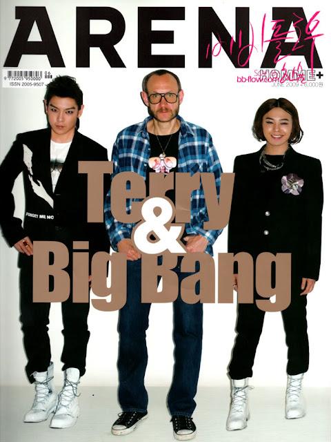 oddness weirdness editorials past big bang for arena magazine june 2009. Black Bedroom Furniture Sets. Home Design Ideas