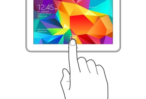 Nei prossimi tablet top di gamma di Samsung sarà presente lo scanner per le impronte digitali