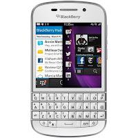 Harga dan Spesifikasi Blackberry Q10 16 GB Putih
