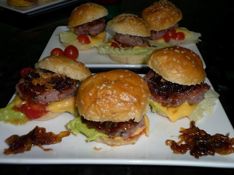 la cocina de puri pastor minihambumguesas