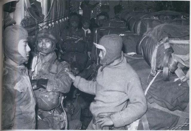 Pasukan RPKAD sekarang Kopassus dalam penugasan misi Dwikora di Kalimantan