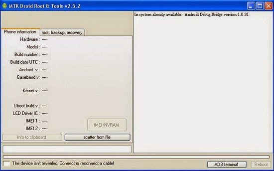 MTK Droid Root & Tools v2.5.2 Download