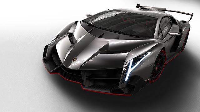 Lamborghini Veneno front side