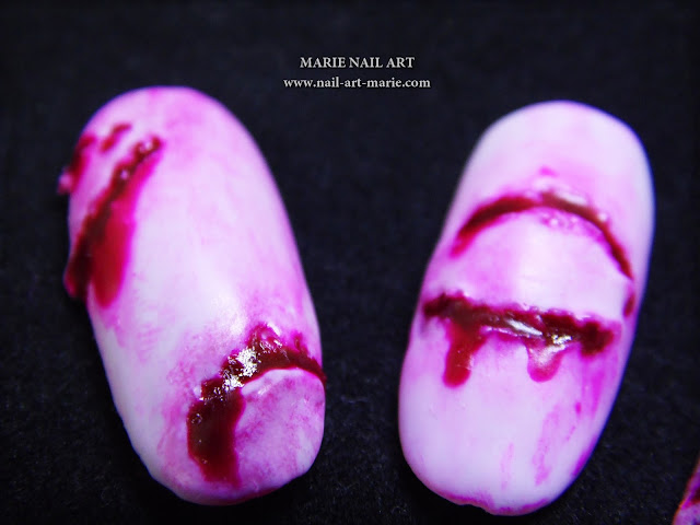 Nail Art The Walking Dead4