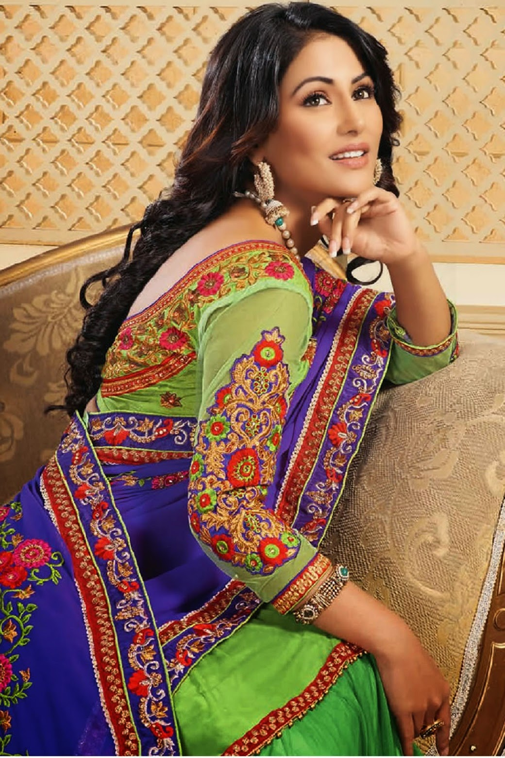 Hina Khan Wallpaper 1920x1080 62752 - Baltana