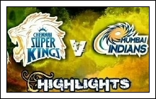 (6th-May-12) IPL-5 - Mumbai Indians vs Chennai Super Kings (47th Match Highlights)