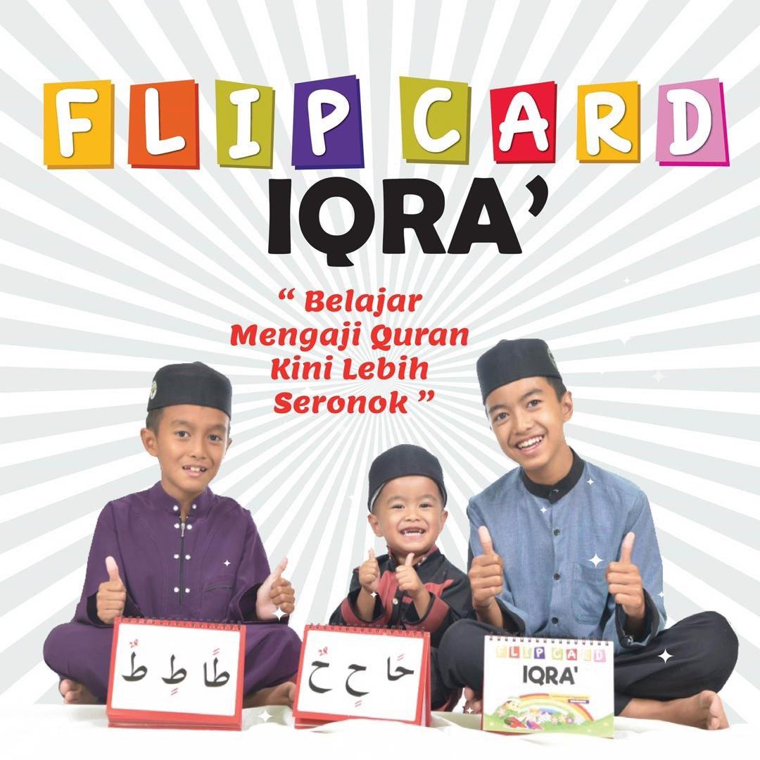 Flip Card Iqra'