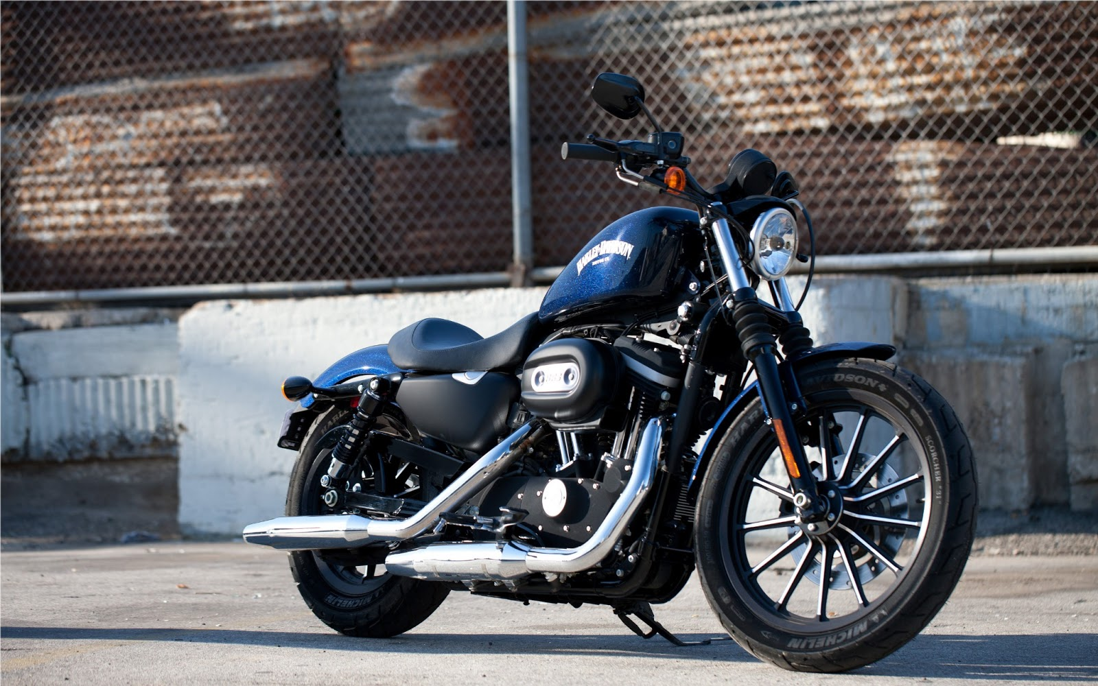 harley davidson iron 883 hd wallpapers | hd wallpapers (high