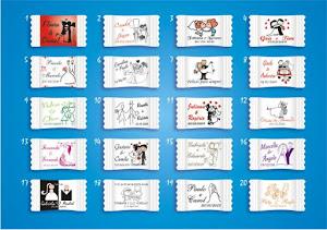 BALAS E PIRULITOS PERSONALIZADOS -  PEÇA PELO  E-MAIL portaldosbrindes@hotmail.com