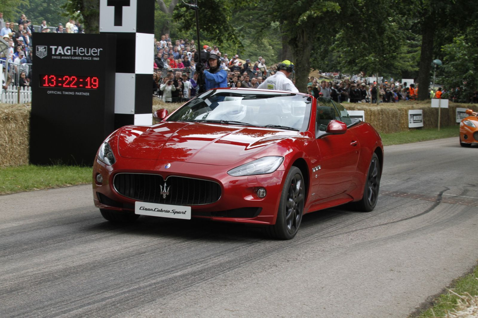 Maserati GranTurismo Sport Debut In 2012 Goodwood Festival Of Speed