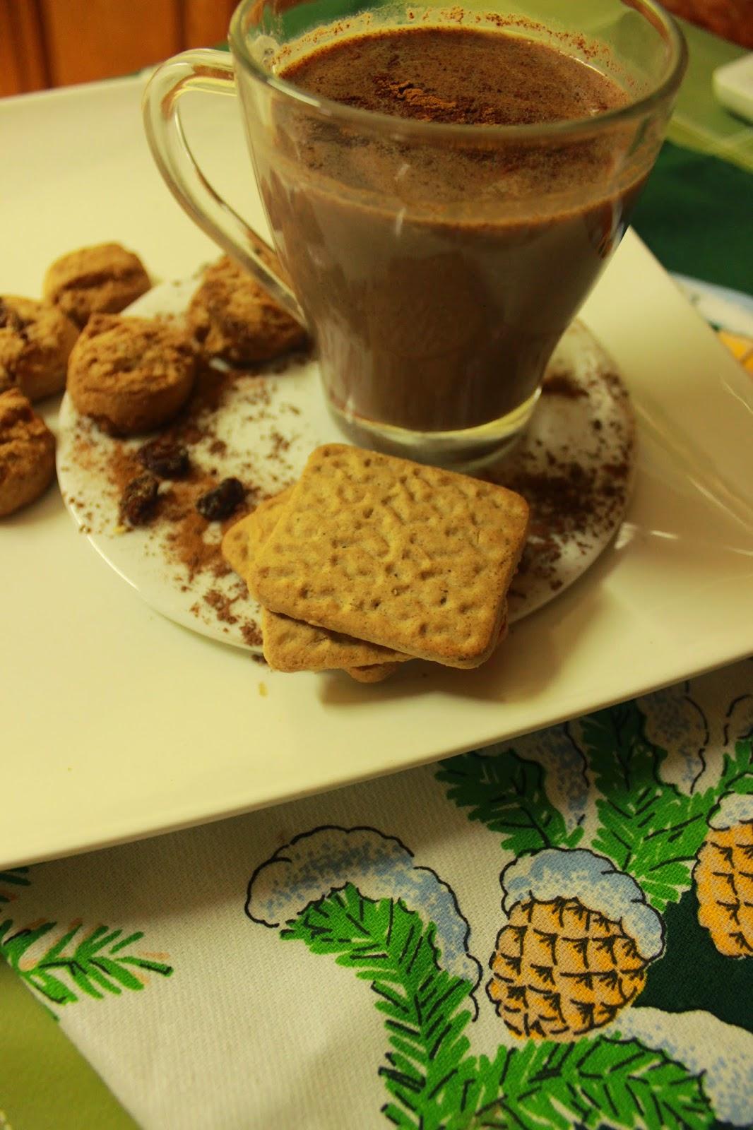 Cokoladni topli napitak