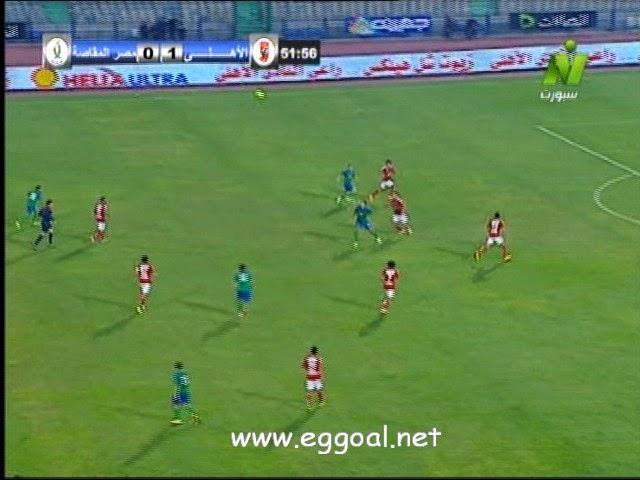 اهداف مباراة الاهلى والمقاصة 28-12-2014 الدورى المصرى AHLY VS MAKASA
