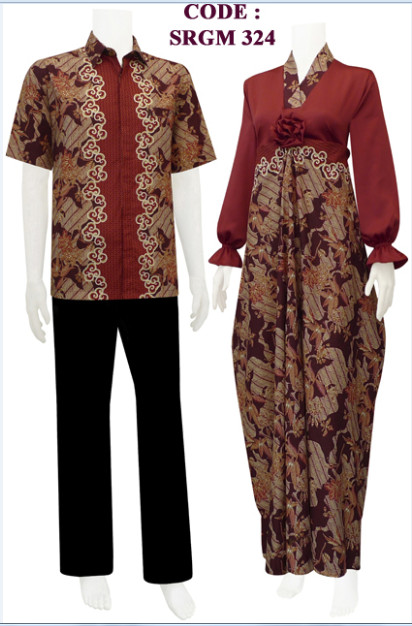 Batiksarimbitku Gamis Batik Model Kaftan