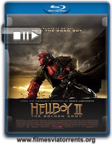 Hellboy II: O Exército Dourado Torrent - BluRay Rip 720p e 1080p Dual Áudio 5.1(2008)