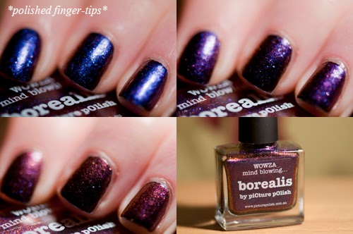 Picture Polish Borealis  - artificial light