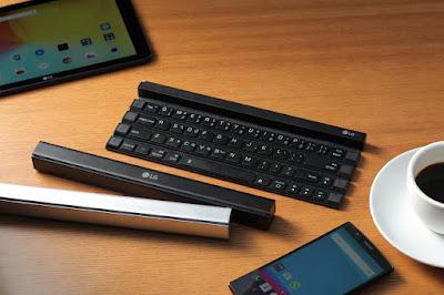 LG Rolly, Keyboard Bluetooth yang Praktis