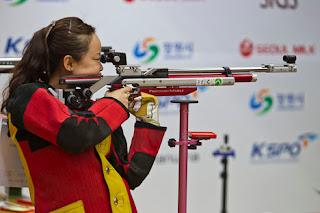 Wu Liuxi - China - Carabina de Ar 10m - Copa do Mundo ISSF 2013 - Tiro Esportivo