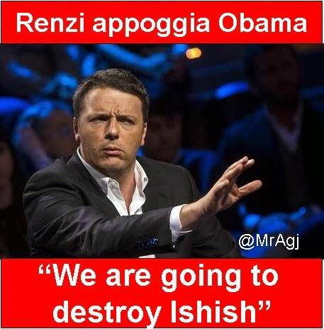 ISIS, Renzi