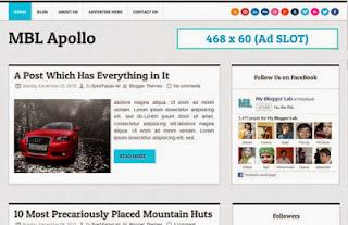 MBL Apollo Blogger Template