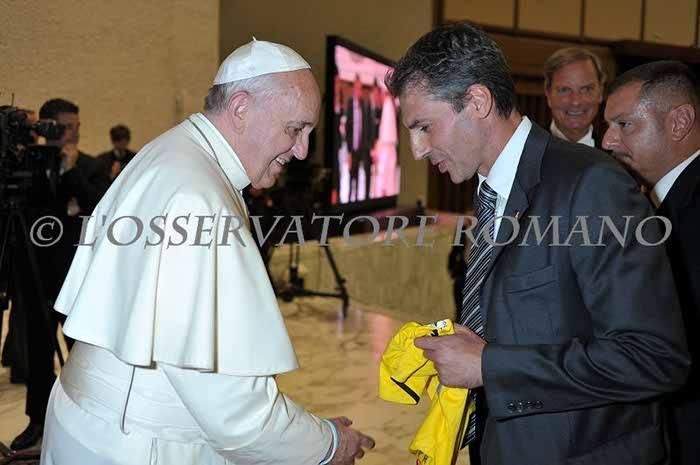 Saluto a Papa Francesco
