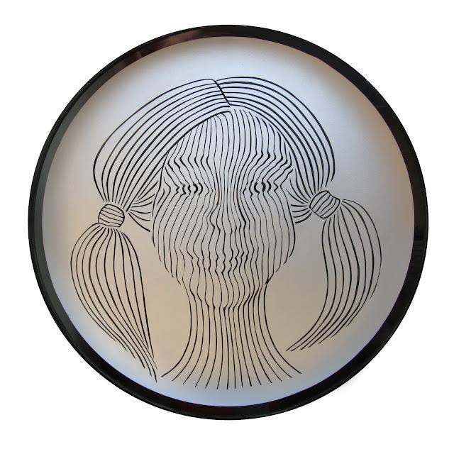vitrážové svítidlo