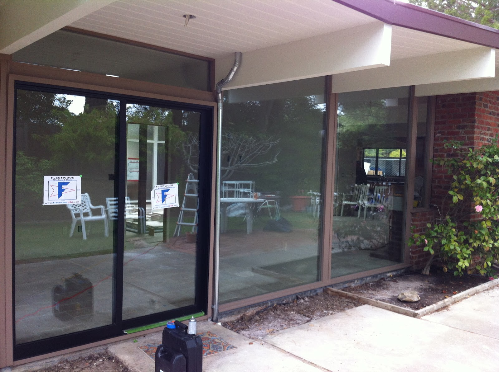 Glass Windows and Doors Old Town Glass & Moderinze an Eichler While Sticking With Tradition
