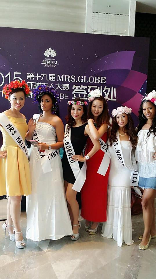 Udari Warnakulasooriya Mrs Globe 2015