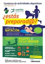 oferta deportiva de Castrillón