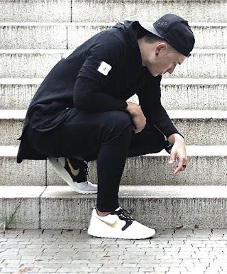 แฟชั่นรองเท้า Nike สำหรับผู้ชาย เท่ สปอร์ต