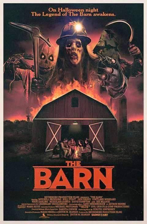 the barn 80's horror movie