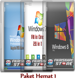 Paket hemat software dan os
