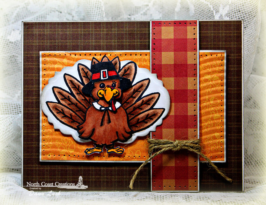 Stamps - North Coast Creations Tommy Turkey, Our Daily Bread Designs Custom Vintage Labels Dies